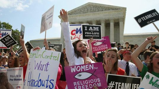 Supreme Court Issues Ruling In Hobby Lobby ACA Contraception Mandate Case