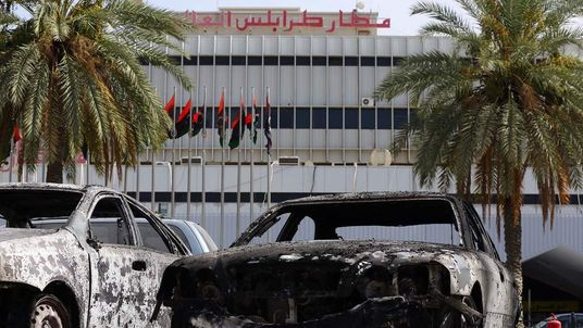 Libya Attack On Tripoli Airport
