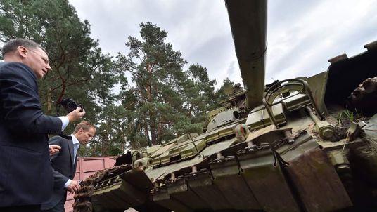 Russian arms seized in eastern Ukraine