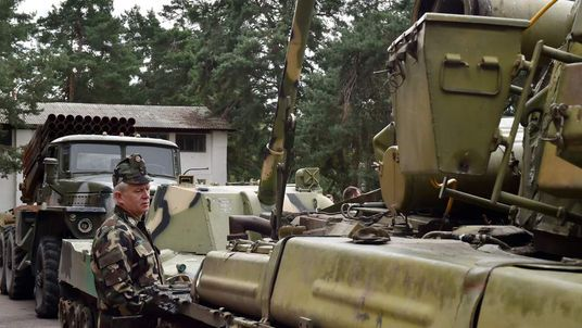 Russian arms seized in eastern Ukraine