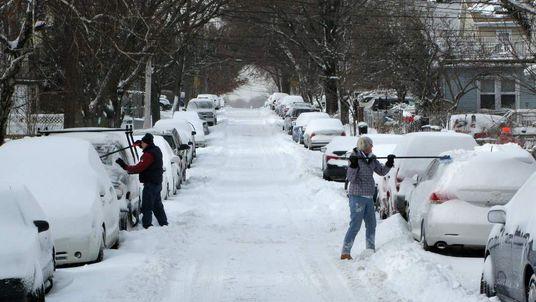 US-WEATHER-SNOW STORM