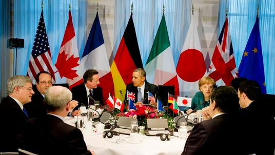 G7 leaders meet to discuss Ukraine during a nuclear summit.