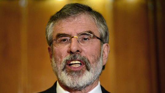Sinn Fein Leader Gerry Adams Released Without Charge Following Questioning Over Jean McConville Murder