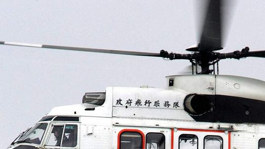 File picture of Super Puma helicopter