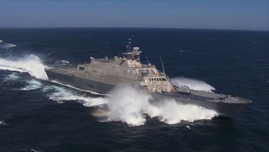 Lockheed Martin released a video to promote the warship