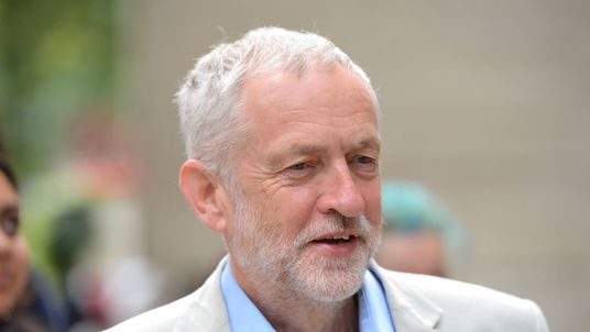 Jeremy Corbyn almost appears to be relishing the Labour leadership race