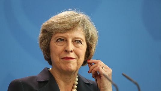 Theresa May is said to have the must-have political power hairstyle form women