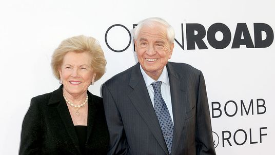 Gary Marshall, pictured with his wife Barbara, in April 2016