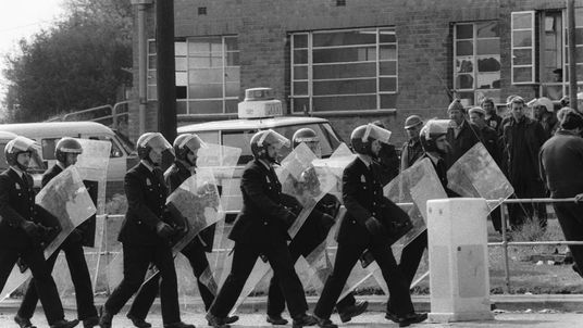 UK Government Rules Out Possibility of Orgreave Police Clashes Inquiry