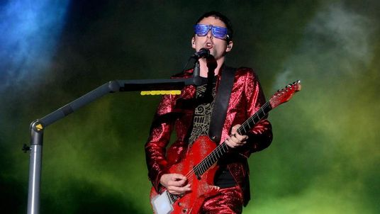 Matt Bellamy, frontman of Muse, whose song Survival is the official song of London 2012