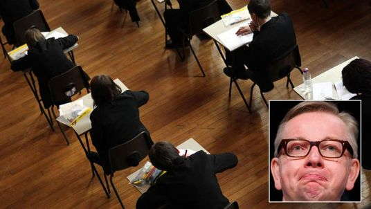 Michael Gove has been planning to scrap GCSE exams.