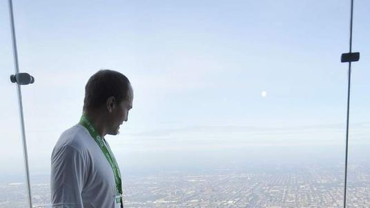 """""""The Ledge"""" of the Willis Tower"""