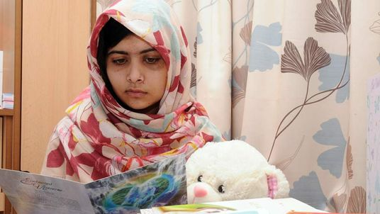 Malala Yousafzai in UK hospital