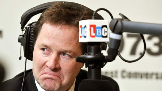 Nick Clegg phone-in