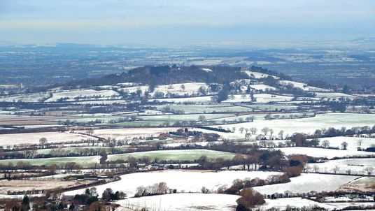 The view across Gloucestershire from Crickley Hill Country Park