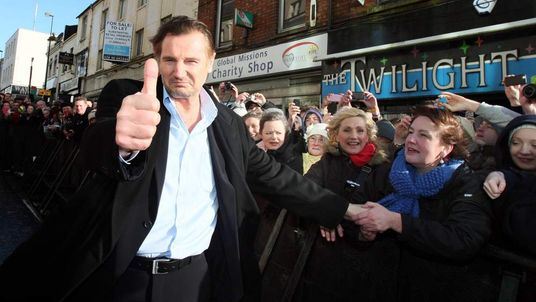 Liam Neeson honoured