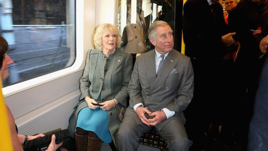 Prince Charles on the Tube