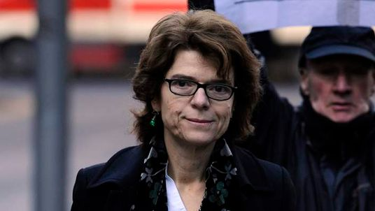 Vicky Pryce arriving at court