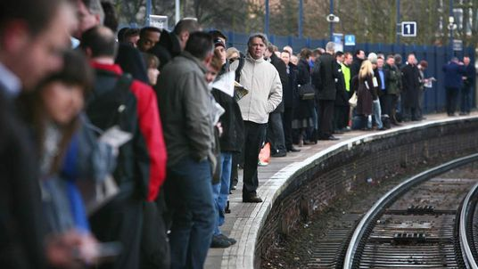 Rail users unhappy with service