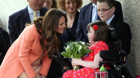 Duchess of Cambridge during the visit