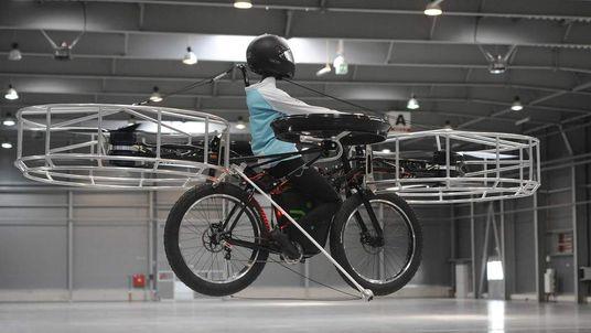 Czech Republic Flying Bike