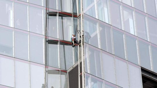 Greenpeace protest at the Shard