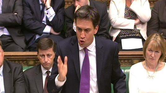 Ed Miliband Syria debate