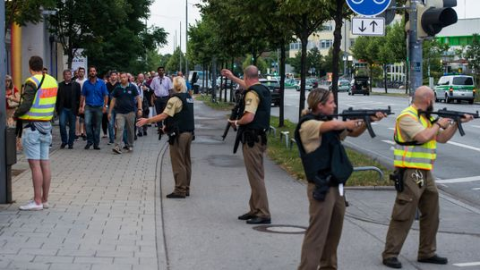 The shooting rampage sparked a major security operation