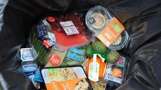 Brits throw away six meals a week