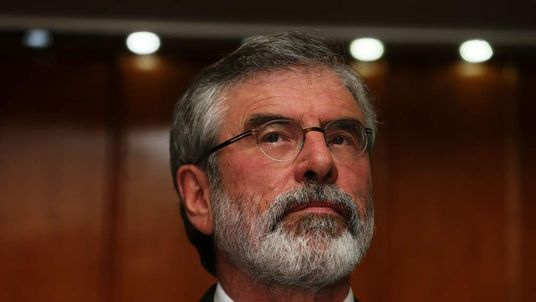 Sinn Fein President Gerry Adams released after questioning over Jean McConville murder