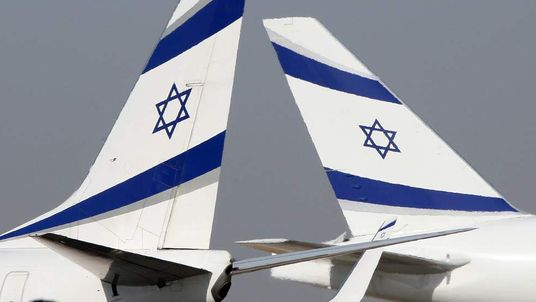 Planes at Tel Aviv's Ben Gurion airport