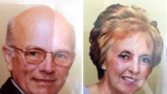 Peter Stuart and wife Sylvia