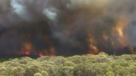 bushfire in South Australia
