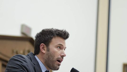 Ben Affleck speaks during a House Armed Services Committee