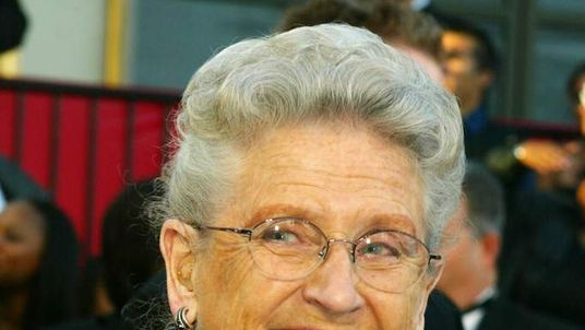 Actress Ann B Davis who portrayed Alice in The Brady Bunch