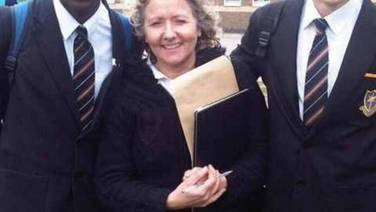 Spanish teacher Anne Maguire