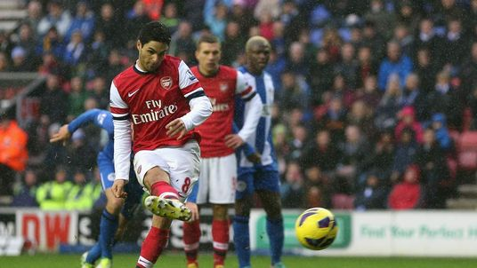 Wigan Athletic v Arsenal - Premier League