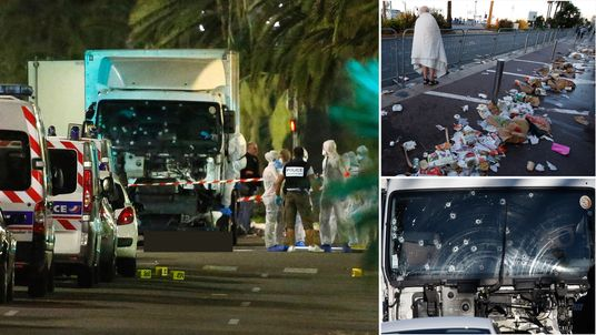 At least 84 people have been killed in a terror attack in Nice