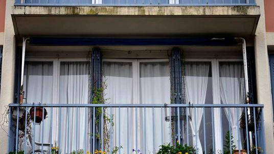 Balcony of Lyon apartment