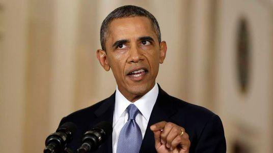 Barack Obama Syria Message