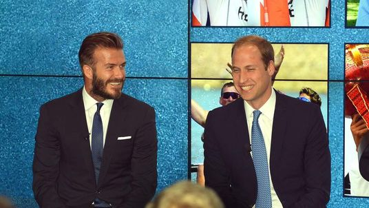 David Beckham and Prince William launch new #WhoseSideAreYouOn anti-poaching campaign