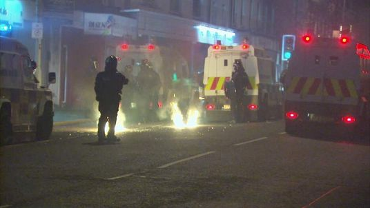 Violence in east Belfast
