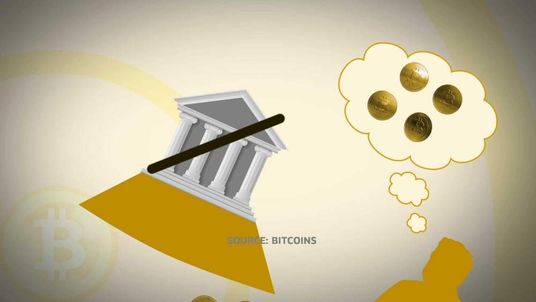 Bitcoins graphic