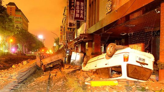 Gas explosions in Kaohsiung