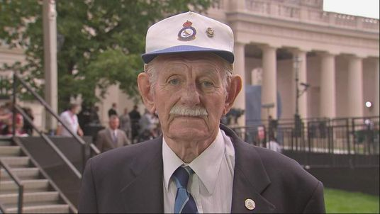 Bomber Command veteran Reg White