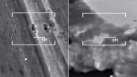 US launches a second wave of airstrikes on Islamic State fighters near Irbil in Iraq