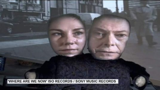 David Bowie's Where Are We Now? (ISO Records/Columbia Records)