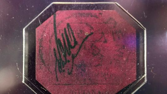 World's Most Valuable Stamp British Guiana One-Cent Magenta