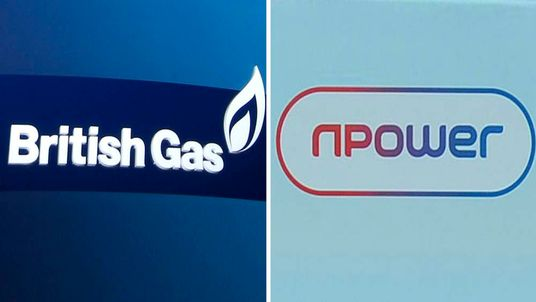 British Gas and Npower logos