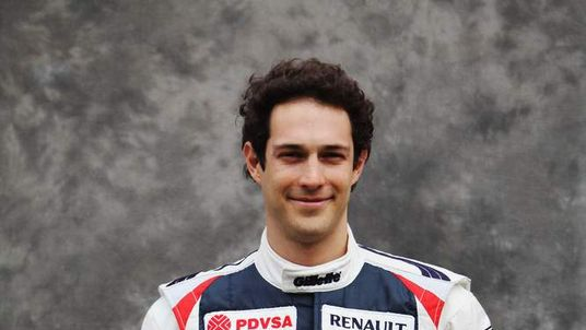 Bruno Senna of Brazil and Williams